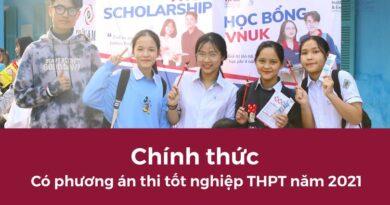[Tuyển sinh] Chính thức có phương án thi tốt nghiệp THPT năm 2021